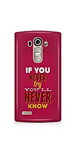 Casenation Try To Know LG G4 Glossy Case
