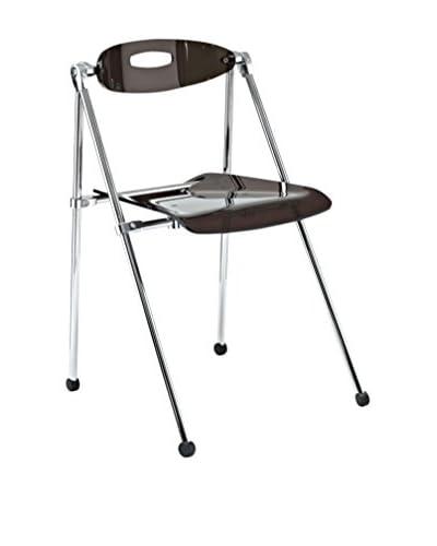 Modway Telescope Folding Chair, Smoke