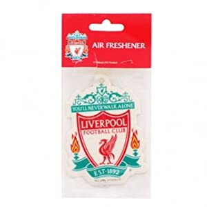 Liverpool Fc Air Freshener One Size White from LIVERPOOL FOOTBALL CLUB