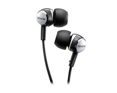 DENON AH-C260 Black   In-Ear Stereo Headphones (Japan Import)