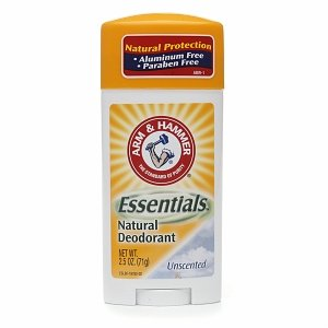 ARM & Hammer Essentials Solid Deodorant Unscented 2.50 Oz (4 Pack)