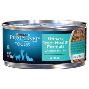 Pro Plan Cat Extra Care Urinary Tract Chicken Entree In Gravy Canned Cat Food