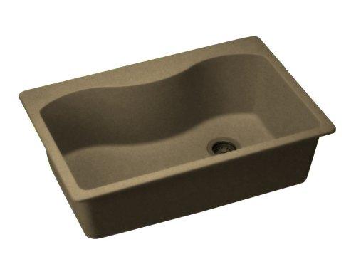 Elkay ELGS3322RMC0 Harmony E-Granite Sink, Mocha