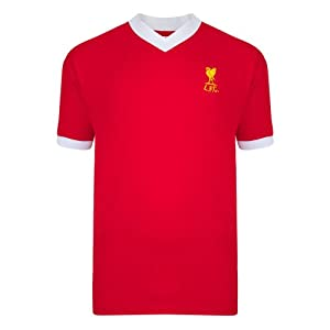 Official Liverpool 1978 Retro Home Shirt (Small) by Scoredraw