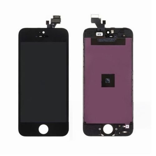 Replace Black White Iphone 5 Lcd Lens Touch Screen Display Digitizer Assembly (Black)