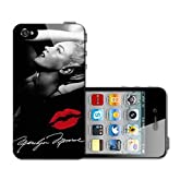Marilyn Monroe Signature with Red Kiss Iphone 5 5s Case Hard Back Case Cover