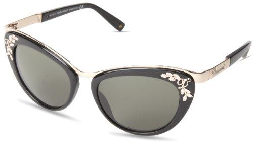 Dsquared2 DQ00965401N Cat-Eye Sunglasses,Shiny Black,54 mm