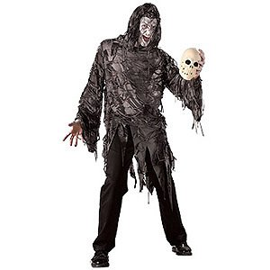 Mens Lord Gruesome Scary Halloween Adult Costume