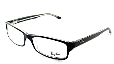 Ray ban optical occhiali da vista rx5114 2034 nero su for Amazon occhiali da vista