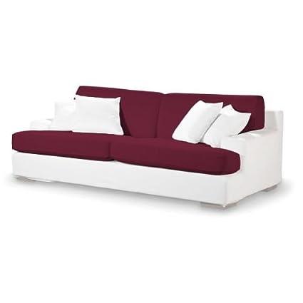 4-tlg. Sofa-Bezug-Set Panama Farbe: Aubergine