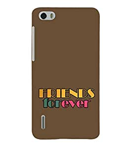 Ebby Premium Printed Back Case Cover With Full protection For Huawei Honor 6 (Designer Case)