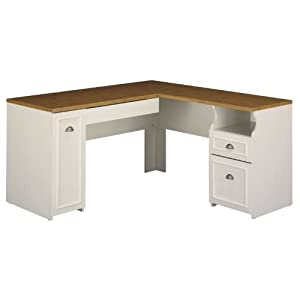 Amazon.com: Fairview Collection L-Desk (kit 2 Boxes): Kitchen & Dining