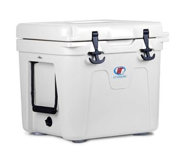 Lit Coolers 22 Quart Cooler, White, 22 Quart