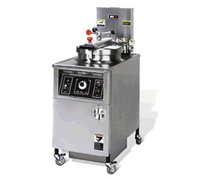 Bki Lpf 2403 Extra Large Volume Pressure Fryer W Manual
