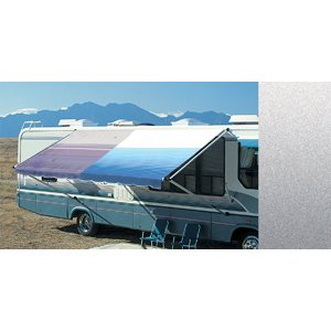 Carefree 8016LK00 Silver Fade  16' Fabric Awning