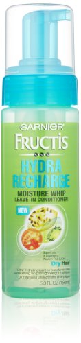 Garnier Fructis Hydra Recharge Moisture Whip Leave-In Treatment for Dry Hair, 5 Fluid Ounce (Leave In Conditioner Garnier compare prices)
