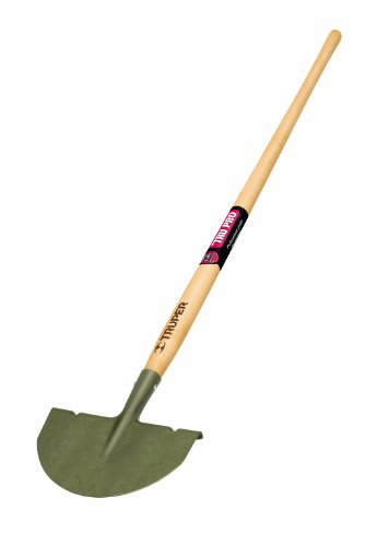 Truper 30035 Tru Pro 48-Inch Forged Half Moon Edger, 9-Inch By 4 3/4-Inch Head, Ash Handle