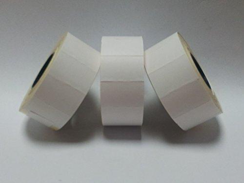 CT726mm x 16mm Prix Étiquettes Pistolet-Blanc pelables-Lot de 10000/10000étiquettes