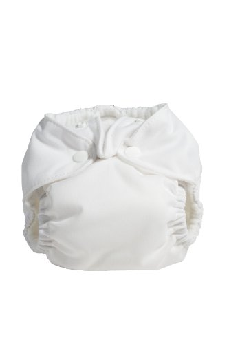 Kissa'S Newborn All-In-One Diaper, White front-364760