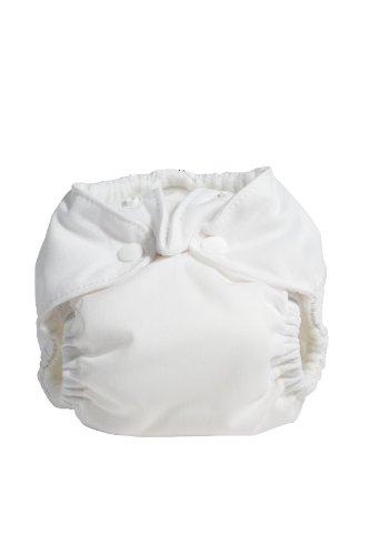 Kissa'S Newborn All-In-One Diaper, White front-364760