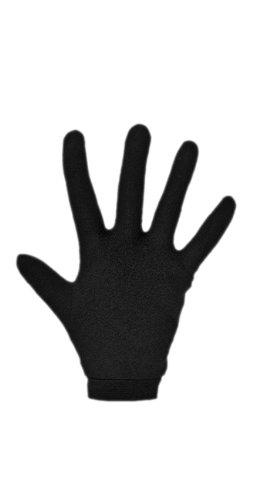 LD600 Unterziehhandschuhe aus Seide Größe S, schwarz