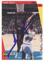 Tyrone Corbin Atlanta Hawks 1997 Upper Deck Collectors Choice Autographed Hand Signed...