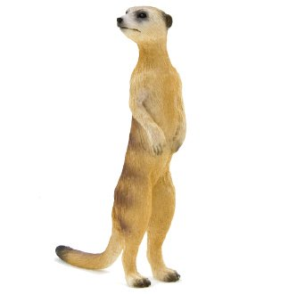 Mojo Fun 387125 Meerkat - Realistic International Wildlife Toy Replica