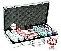 Royal Flush Big Number Poker Set, 11.5g