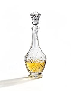 Medea Collection Crystal Wine Decanter - 32 Oz. by Studio Silversmith