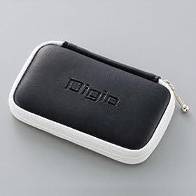 【クリックでお店のこの商品のページへ】ロアス SDカード収納ポーチ ブラック MCC-701BK