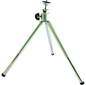 Digipower TP-S032 Compact tripod with two section extended legs and ball head to catch any angle