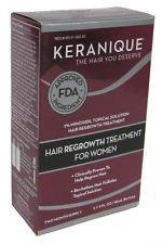 Keranique Hair Regrowth Treatment - Minoxidil Sprayer, 2 Ounce