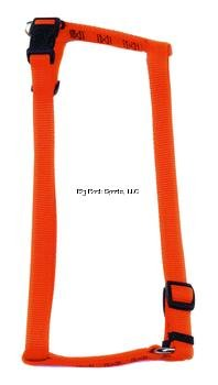 Coastal Pet R6643 3/4-Inch Adjustable Safety Harness, Orange