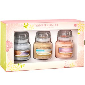 Yankee Candle 3 Small Jars Summer Gift Set Beach Walk Sun And Sand Pink Sands - 1236566e from Yankee Candle