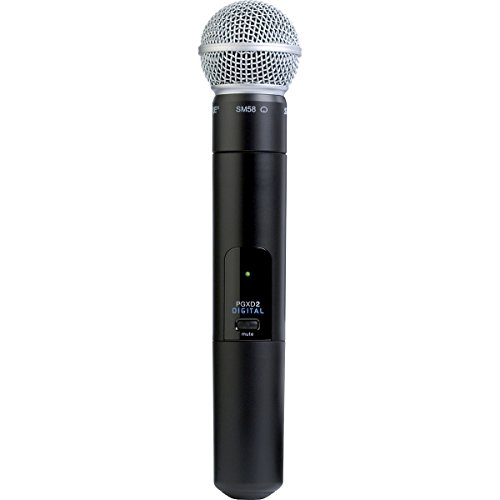 Shure Pgxd2/Sm58=-X8 Handheld Transmitter With Sm58 Microphone