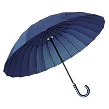 人気の雨傘 高強度グラスファイバー24本骨傘 (デュポン社製撥水テフロン加工)