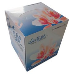 Facial Tissue Cube Box, 2-Ply, White, 85 Sheets/box, 85/box, 36 Boxes/carton