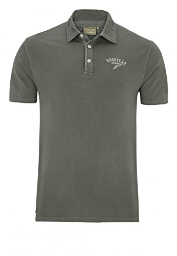 Goodyear Poloshirt Slim Fit Macon, Color:stoner;Größe:M