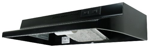 Air King Av1306 Advantage Convertible Under Cabinet Range Hood With 2-Speed Blower And 180-Cfm, 7.0-Sones, 30-Inch Wide, Black Finish