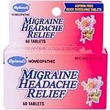 Hylands - Migraine Headache Relief 60 tabs (Pack of 3)