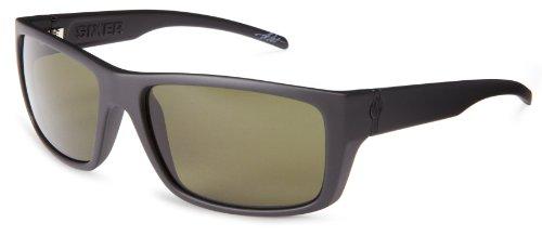 Electric Sixer Es11801042 Polarized Wrap Sunglasses,Matte Black,61 Mm