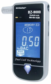 Cheap BZ-9000 Portable Breathalyzer (Handheld). Professional Model. (BZ-9000)