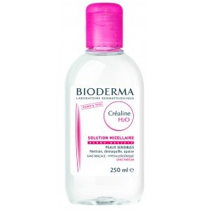 Bioderma Crealine Sensibio H2o Ultra-mild Non-rinse Face And Eyes Cleanser 250 Ml from Bioderma