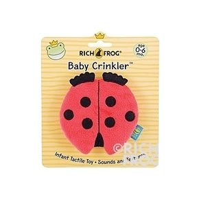 Crinkler, Lady Bug by Rich Frog