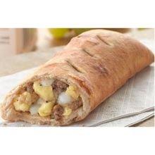 Beacon Street Cafe 51 Percent Whole Grain Sausage Egg Cheese Stuffed Sandwich -- 96 Per Case.