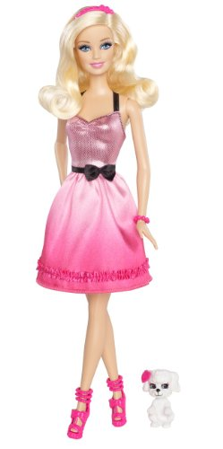 Barbie Doll and Pet Giftset - 1
