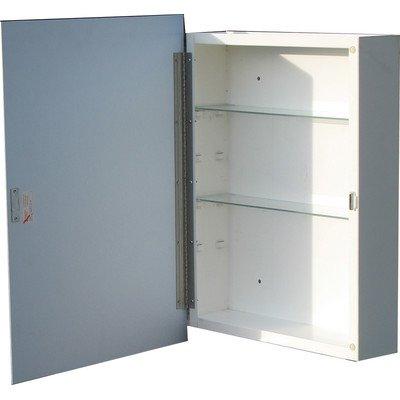 "Raised Panel 16"" x 22"" Surface Mount Medicine Cabinet"
