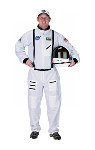 Astronaut Adult Costume - White Suit