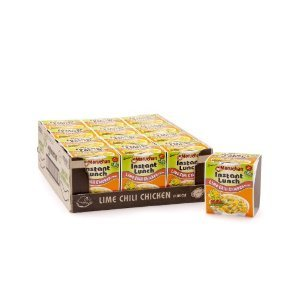 Maruchan Instant Lunch, Lime Chili Chicken, 2.25-Ounce Packages (Pack of 12) (Ramen Noodle Chili compare prices)