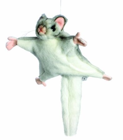 Sugar Glider Stuffed Animal<br>Hanza<br>Approx 10 Inches